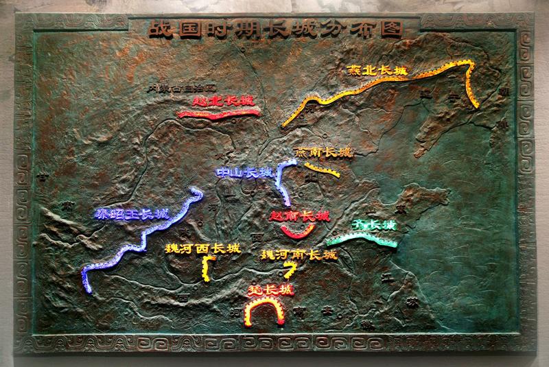 万里长城地图全图